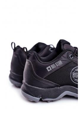 Čierna trekingová obuv Big Star pre pánov