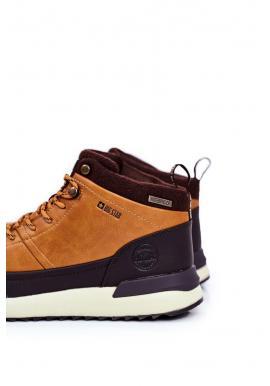 Trekingová pánska obuv Big Star hnedej farby