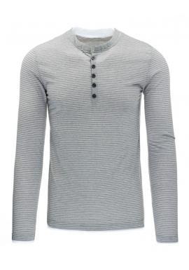 Tričko čiernej farby s dlhým rukávom pre pánov