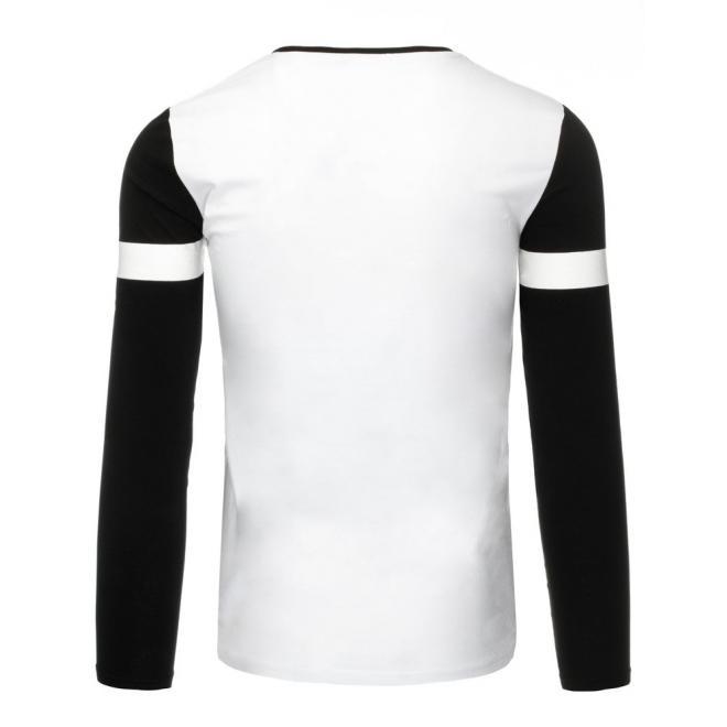 Štýlové čierne tričko s farebnými prvkami