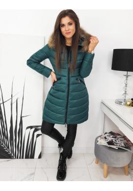 Morská prešívaná bunda na zimu pre dámy