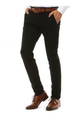 Čierne Chinos nohavice pre pánov