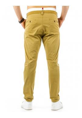 Pánske nohavice v béžovej farbe