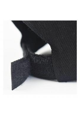Čierna klasická šiltovka so suchým zipsom pre dámy