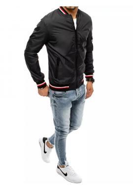 Pánska prechodná bunda v čiernej farbe