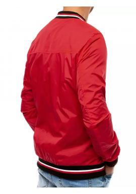 Červená prechodná bunda pre pánov