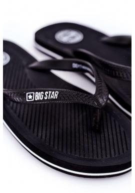 Čierne klasické žabky Big Star pre pánov