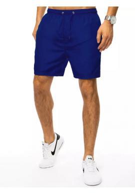Modré plavecké šortky s vreckom pre pánov