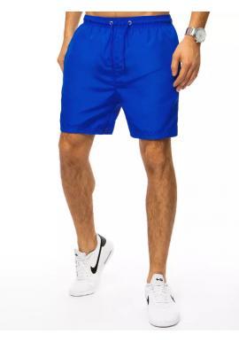 Pánske plavecké šortky s vreckom v modrej farbe