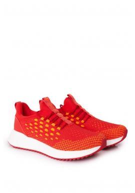 Športové pánske tenisky Big Star červenej farby s pamäťovou stielkou