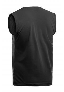 Bavlnené pánske tričká čiernej farby s potlačou