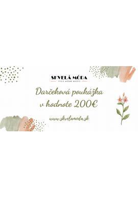 Darčekový poukaz 200€