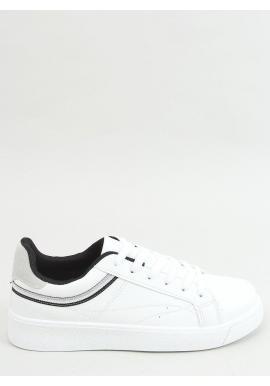Klasické dámske tenisky bielo-čiernej farby