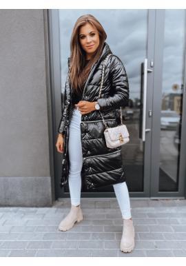Dámska zimná bunda s tromi dĺžkami v čiernej farbe