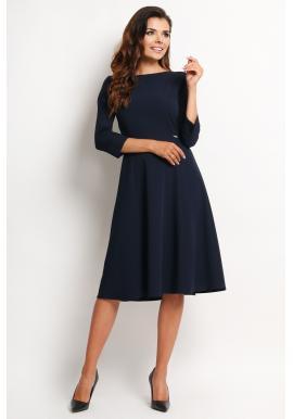 Dámske šaty - tmavomodré