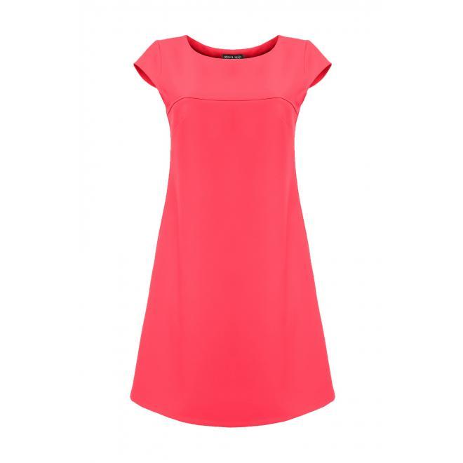 Dámske šaty voľné - ružové