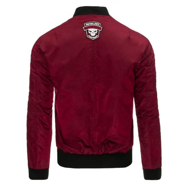 Prechodná pánska bunda typu softshell čiernej farby s kapucňou