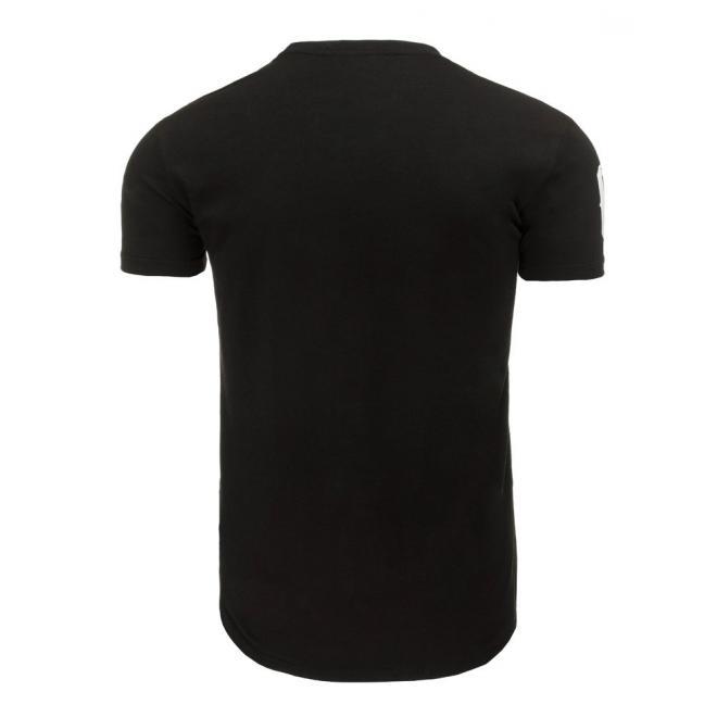 Tričko pre pánov v sivej farbe s maskáčovým motívom