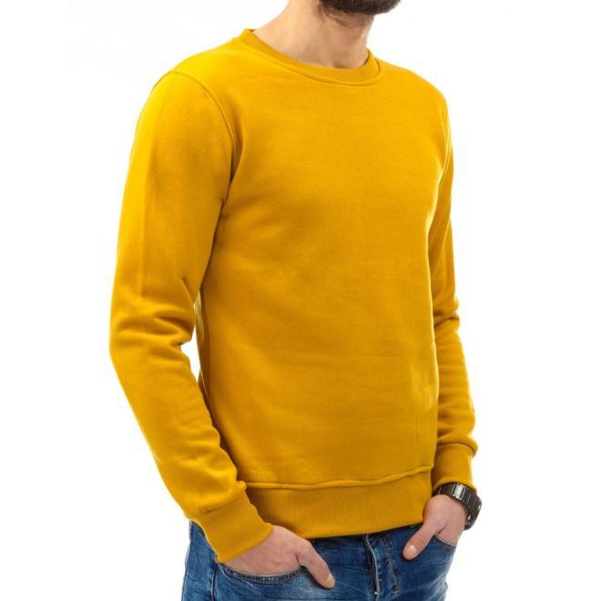 Mikina bez kapucne pre pánov v sivej farbe