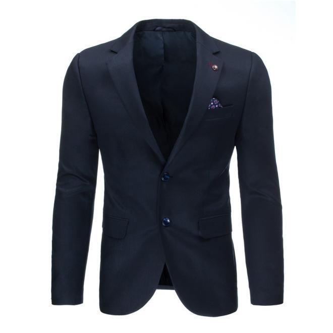 Pánske elegantné sako tmavosivej farby