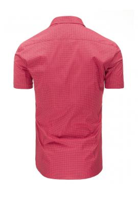 Sivá elegantná košeľa so vzorom pre pánov