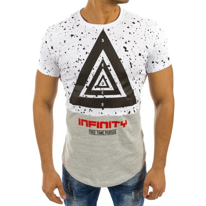 Pánske športové tričko s potlačou v čierno-sivej farbe. Loading zoom.  Predchádzajúci be8733946c7