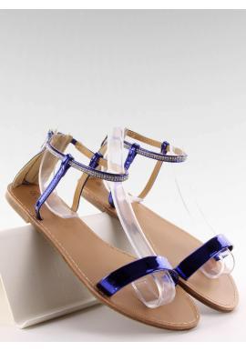 9a0eca89f598 Elegantné dámske sandále striebornej farby s kamienkami ...
